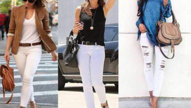 Beyaz Pantolon ve Kombin Önerileri