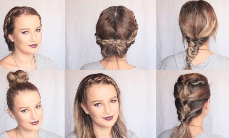 Okulda İçin Saç Modelleri