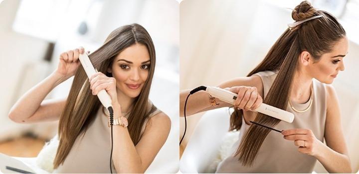 Saç Düzleştiricisiyle Yapılan Modeller